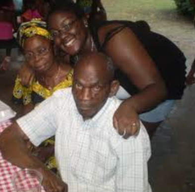 (Amen Oyiboke with her maternal grandparents)