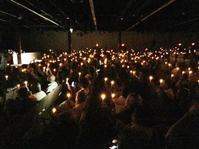 CandlelightVigilforRobertHollis