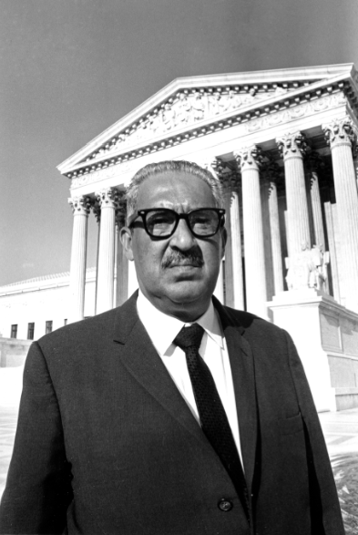 a life history of thurgood marshall an african american associate justice