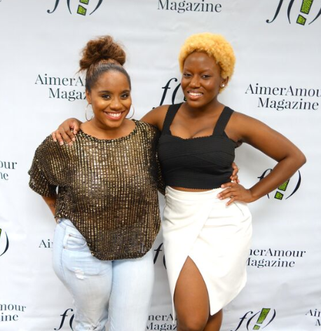 "Founder of United We Function Waverly Coleman and Editor-in-Chief of AimerAmour Magazine Zon D'Amour created the series ""What is..?"" to enlighten young professionals in the media industry.  (Lorenzo Diggins Jr.)"