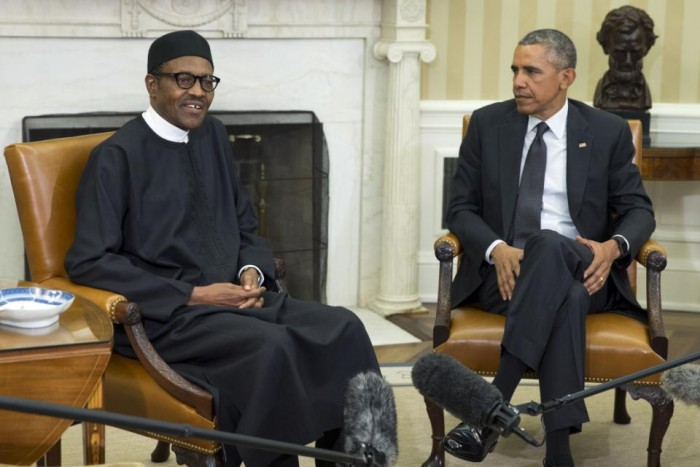 Barack Obama, Muhammadu Buhari