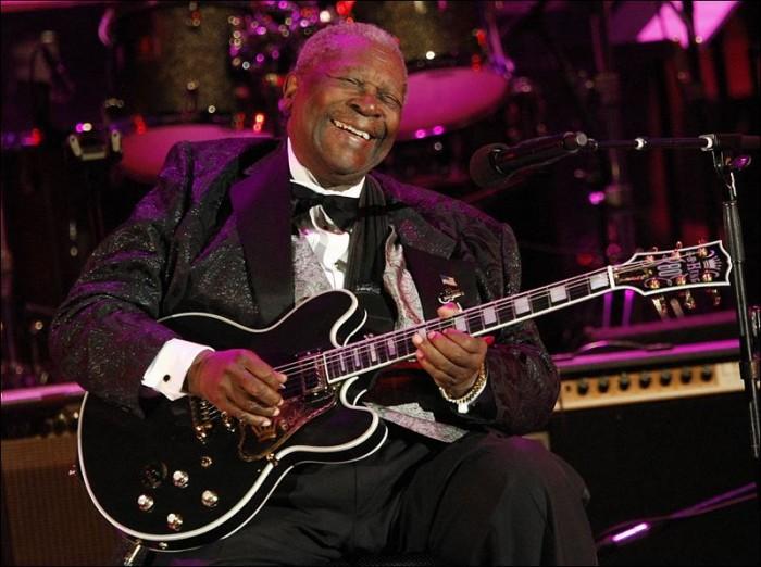 Legendary blues artist B.B. King