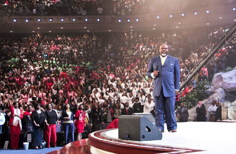 Image result for td jakes church