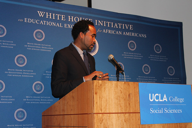 Moderator for panel 1 and Executive Director of the White House Imitative on Educational Excellence for African Americans, David J. Johns (Courtesy Photo)