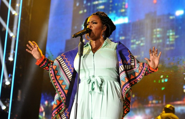 Singer Jill Scott said she was wrong for standing by Bill Cosby during his rape allegations. (AP Photo)