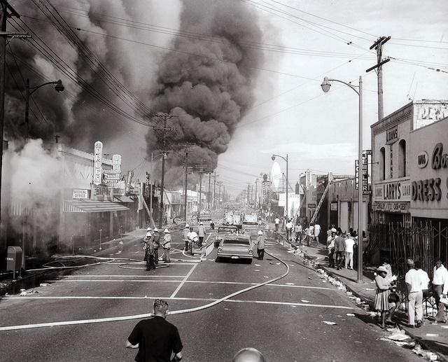 Watts Riot begins