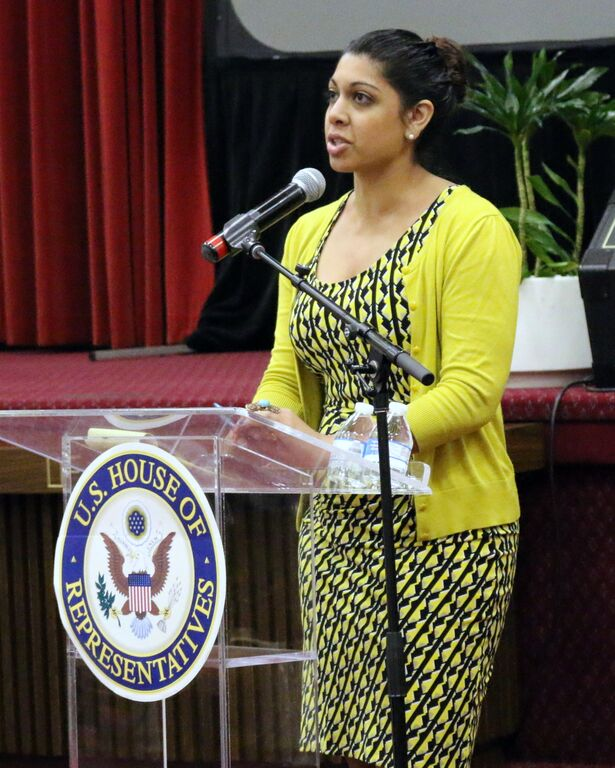 """Maheen Kaleem talks """"The Sexual Abuse to Prison Pipeline"""" report, which sheds light on marginalized girls and women of color  (Photo Credit/ Aonya McCruiston)"""