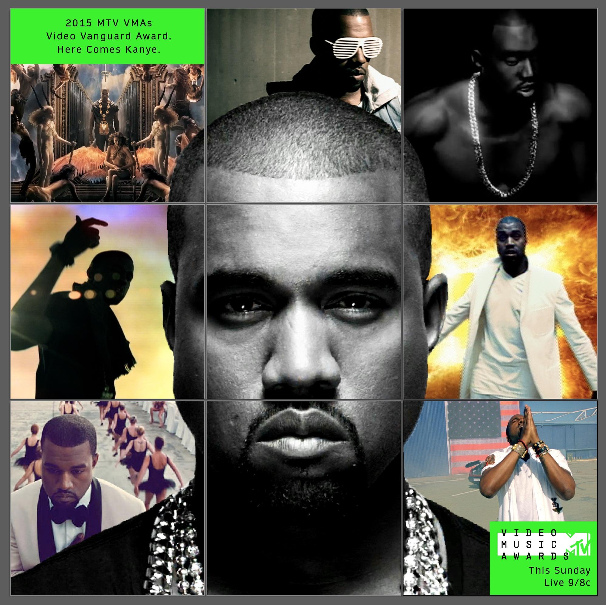 2015 MTV Video Music Awards gives Kanye West Video Vanguard Award ...