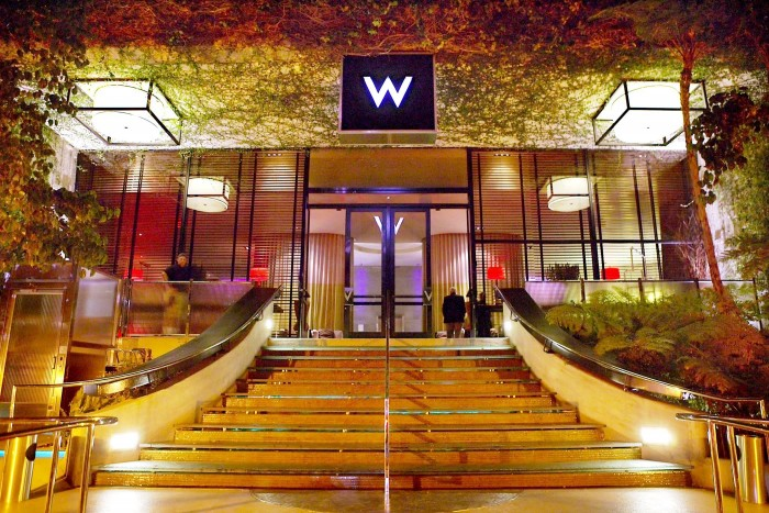 The W Hotel is coming to downtown Los Angeles as part of a $700 million mixed-use, tower project being planned across from Staples Center, Chinese developers announced this week. (file photo)