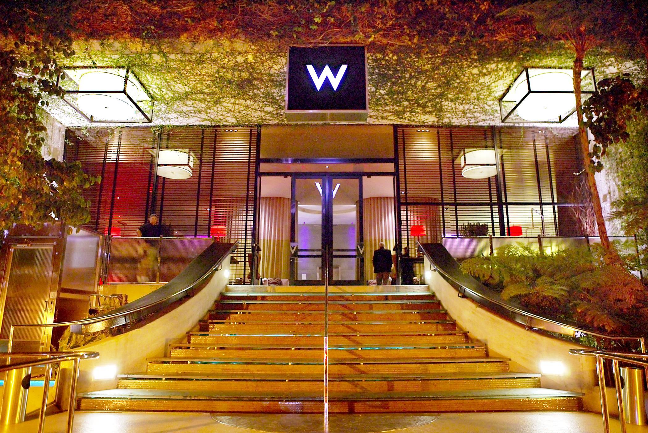 w hotel coming to downtown los angeles los angeles