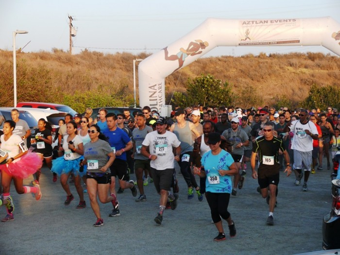 People of all ages, races and fitness levels showed up at the Baldwin Hills Scenic Overlook to test their mettle.