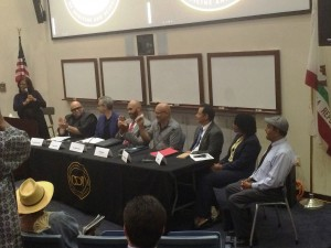 Some of the speakers included Congresswoman Maxine Waters, Director John Singleton and Supervisor Mark Ridley-Thomas