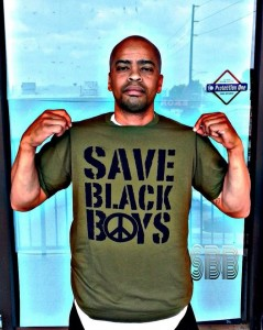 Author/Producer and founder of Save Black Boys, Kevon Gulley