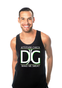 Professional dancer Derrick Garcia is one of instructors for DADA Fit