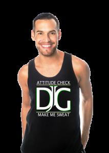 Professional dancer Derrick Garcia is one of instructors for DADA Fit