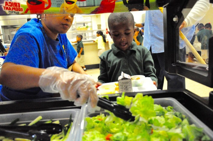 Compton Unified elementary schools will now be serving fresh vegetables via Super Sprowtz salad bars featuring characters including Miki Mushroom, Colby Carrot, Erica Eggplant, and Brian Broccoli. The eye-popping and colorful presentation is designed to encourage students to make healthier food choices.