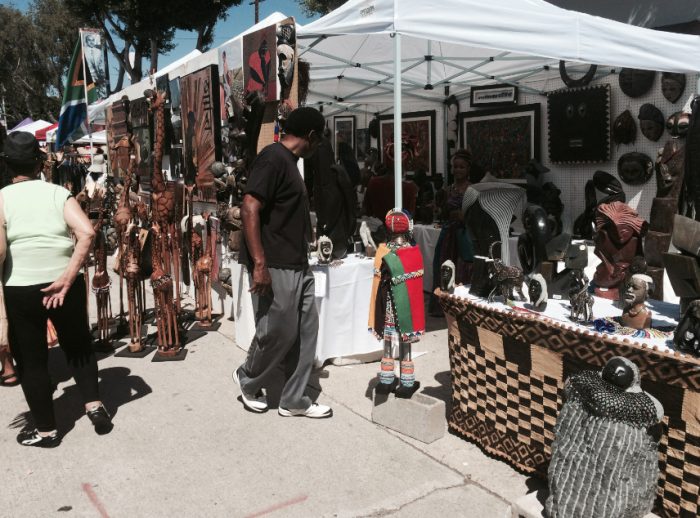 Leimert Park Festival brings the community together for food, art and culture.