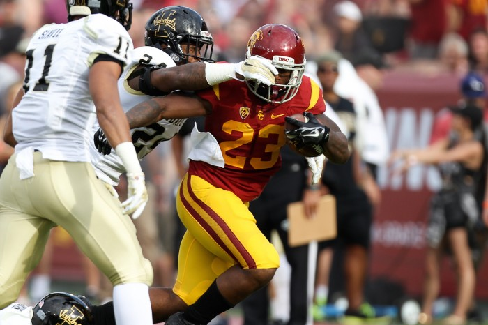 USC Running Back Tre Madden Photo:  Jordon Kelly