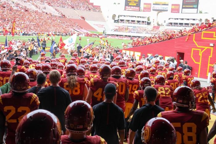 USC vs. Idaho Photo:  Jordon Kelly