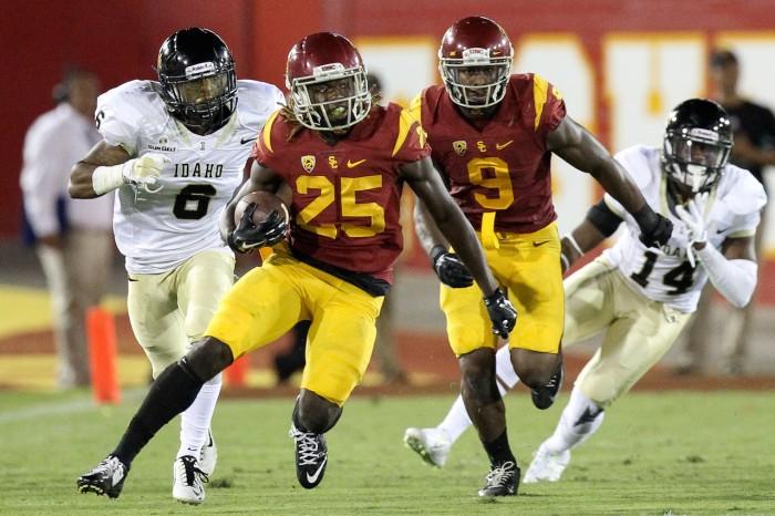 USC Running back Ronald Jones, II Photo:  Jordon Kelly