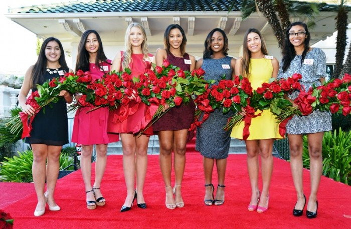 From left to right: Sarah Shaklan, Rachelle Liu, Erika Winter, Bryce Bakewell, Regina Pullens, Natalie Hernandez-Barber, Donaly Marquez (courtesy photo)