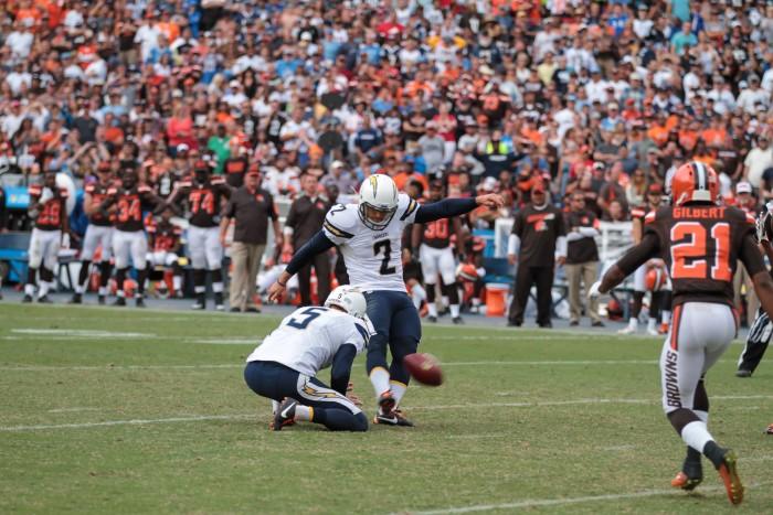 Kicker Josh Lambo kicked game winning field goal.  Photo:  Jevone Moore
