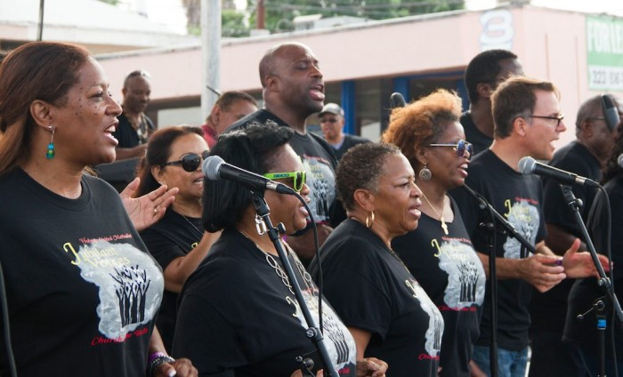 Jubilant Voices of Holman United Methodist Church (photo by Jules Green)