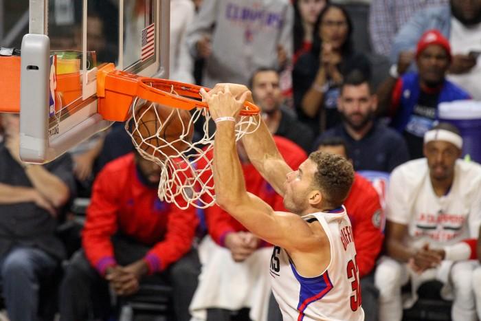 Blake Griffin Scores 26 points, 10 rebounds. Photo Jordon Kelly
