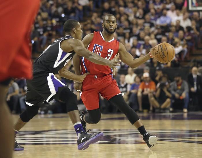 LA Clippers Chris Paul Drives Against Kings AP Photo:  Rich Pedronelli