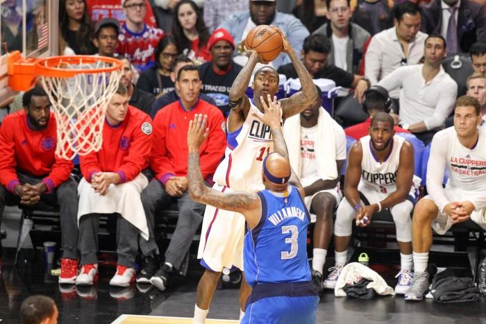Guard Jamal Crawford Scores 15 points against Mavericks Photo:  Jordon Kelly