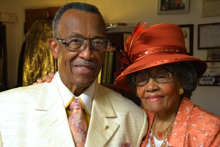 Pastor Reginald and First Lady Juanita Pope