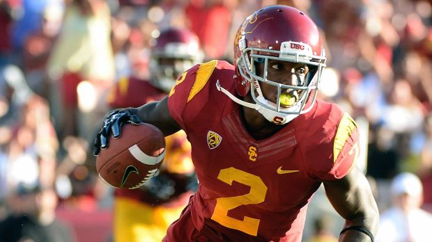 USC's Adoree' Jackson Returns Punt 42 yards in Trojan Victory Photo:  Associated Press