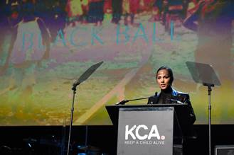Alicia Keys at the 12th Annual KCA Black Ball (photo: KCA/ Wire Images)