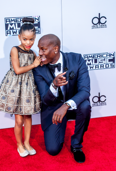 (Tyrese and daughter Shayla )