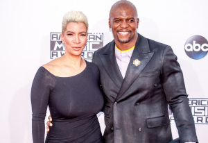 (Terry Crews and wife)