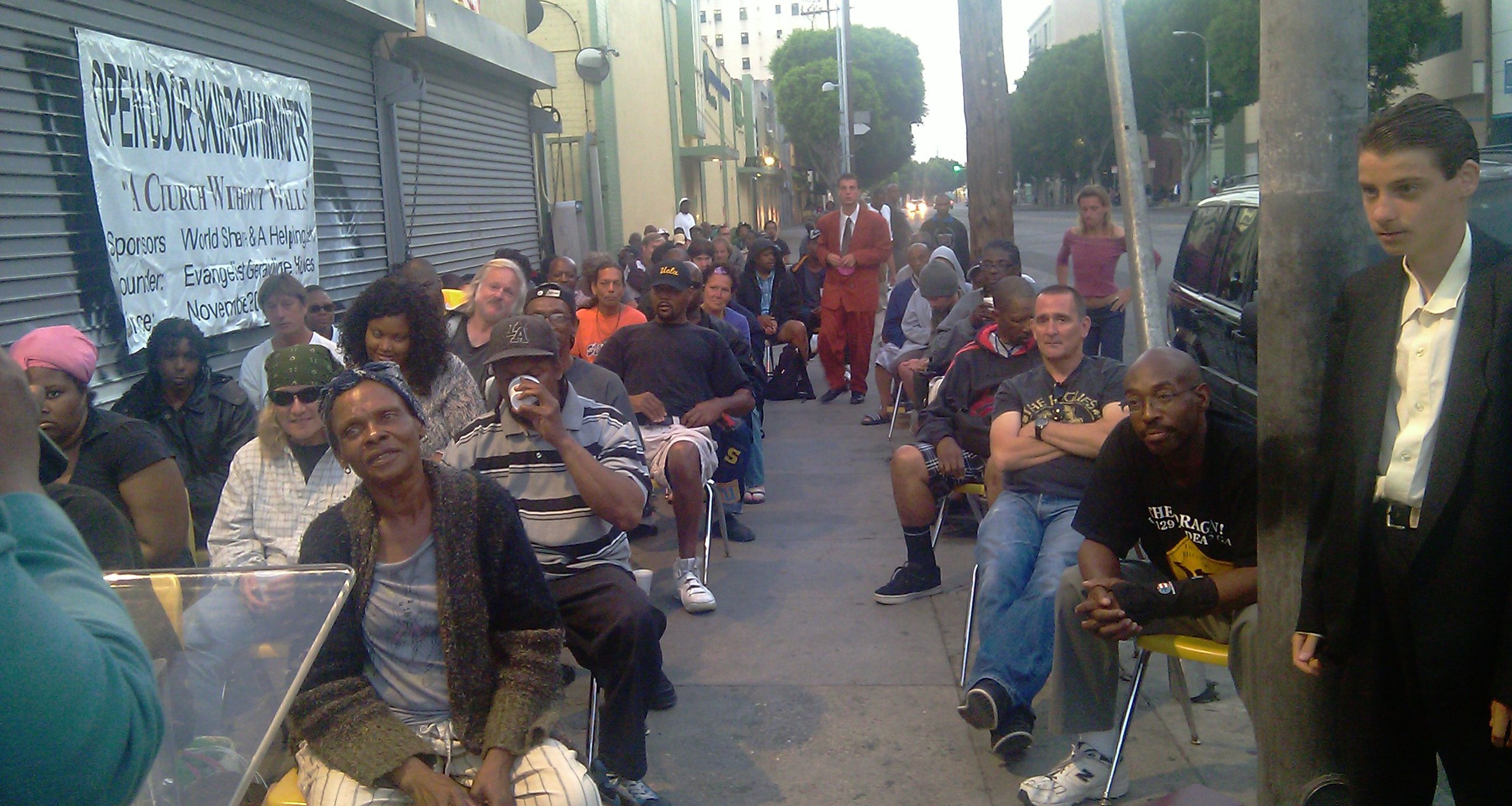 Skid Row Ministry Celebrates 7th Year - Los Angeles ...