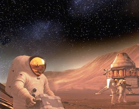 The unique pairing of the exhibition and 3D film offers an extraordinary vision of the future for living and working in space. Courtesy Photo