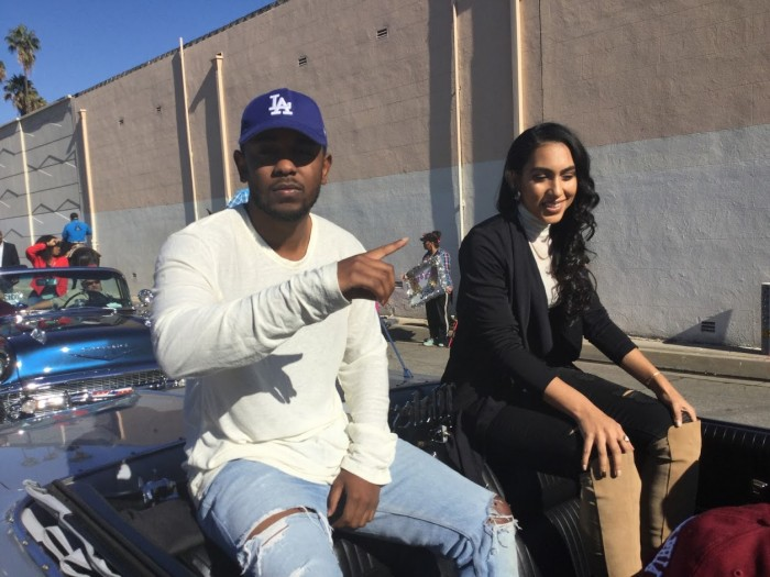 Rap artist Kendrick Lamar (Photos by Jasmyne Cannick )