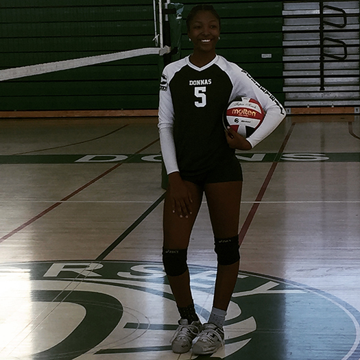 Dorsey senior Tyla Moore earned Division IV All-City second team (courtesy of Quinton Bradley)