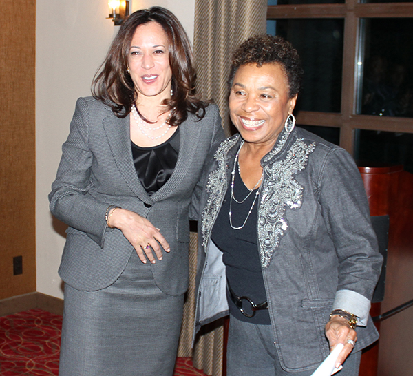 Attorney General Kamala Harris & Congresswoman Barbara Lee (D-CA)