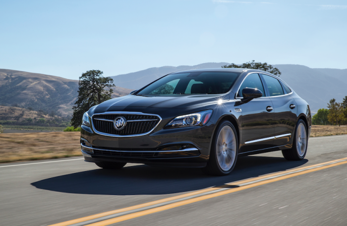 2017 Buick LaCrosse (courtesy of Buick)