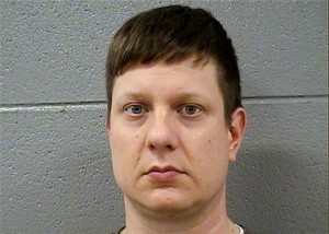 Chicago police Officer Jason Van Dyke appeared in court November 30 and had a $1.5 million bond set. Van Dyke was charged with the murder of 17-year-old Laquan McDonald. (Cook County Sheriff's Office)