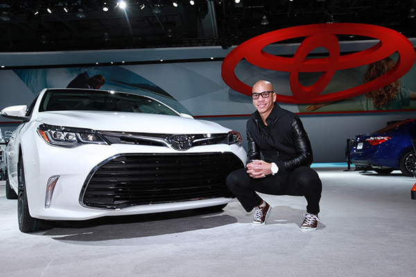 Rob McConnell, a senior design engineer at Toyota, poses with the 2016 Avalon. As a design engineer, McConnell along with a team of others are responsible from turning a car designers' concept vehicle to an actual production road-ready vehicle. McConnell has his hands in a number of Toyota products. The Avalon was one of the vehicles McConnell had a hand in making a production ready vehicle.