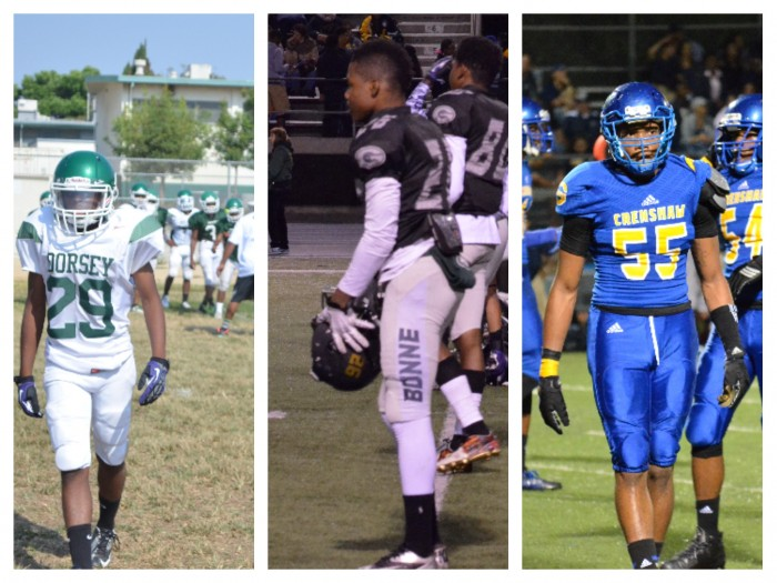 Players from Dorsey, Narbonne, and Crenshaw high schools earned All-City honors (Amanda Scurlock/ LA Sentinel)