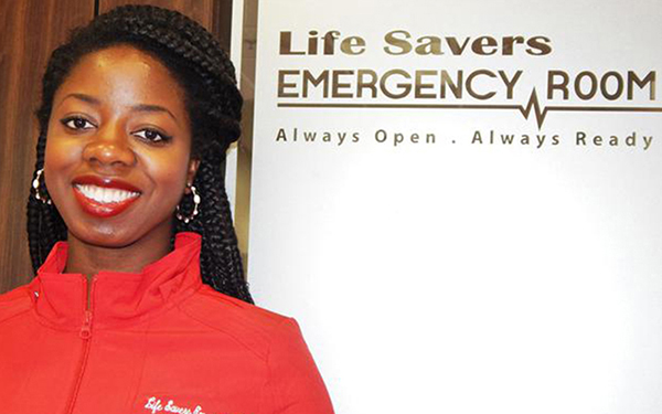 Dr. Foyekemi Ikyaator is a 31-year old Black woman, who has opened up a stand-alone, full-service emergency room in northwest Houston, Texas. (Houston Forward Times)