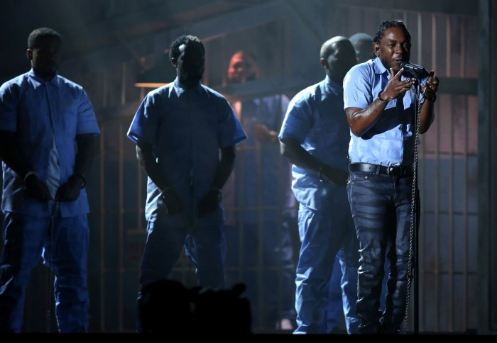Lamar performing at the Grammy's. (courtesy photo)