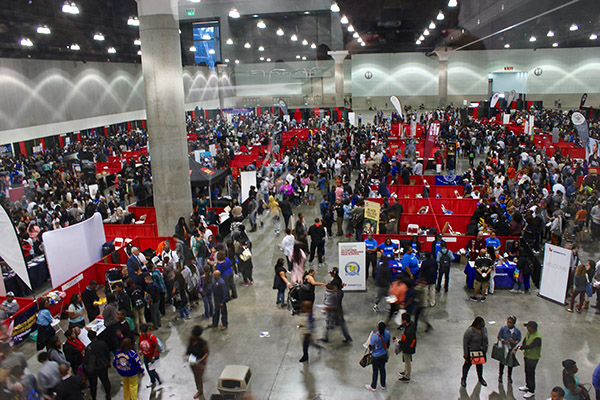 Thousand fill LA Convention Center to learn about historically Black colleges and universities. (Courtesy Photo)