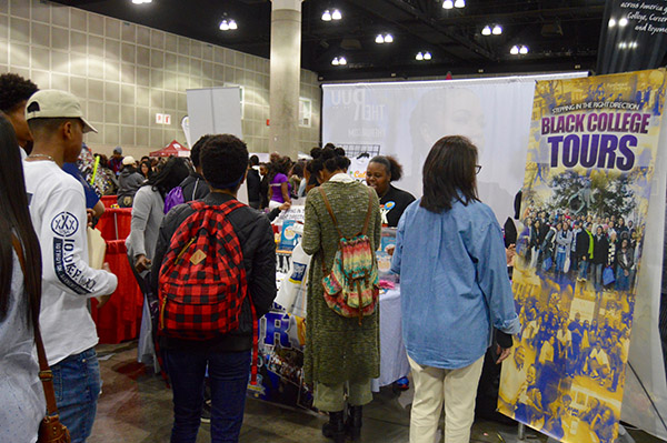 Black College Expo brings information of historically Black colleges and universities to students of Los Angeles. (Courtesy Photo)