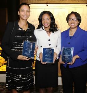 (L-R) Deborah Flint, Debra Johnson and Stephanie WigginsPhoto credit: Haywood Galbreath