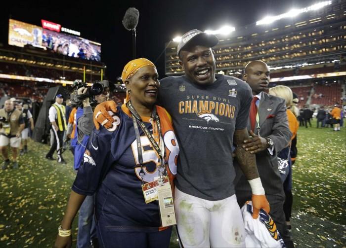 Super Bowl 50 MVP Von Miller.  Photo:  Associated Press